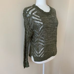 Anthropologie staring at stars knit sweater #970